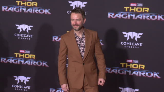 chris hardwick at the thor ragnarok premiere at the el capitan theatre on october 10 2017 in hollywood california - thor: ragnarok stock videos & royalty-free footage