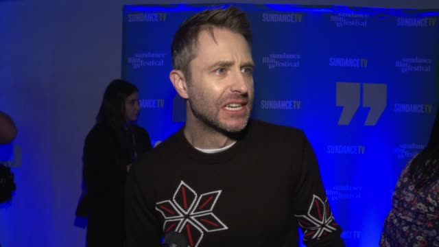 INTERVIEW Chris Hardwick on how Sundance is the film version of ComicCon at the 2018 Sundance Film Festival Official Kickoff Party at Sundance TV HQ...