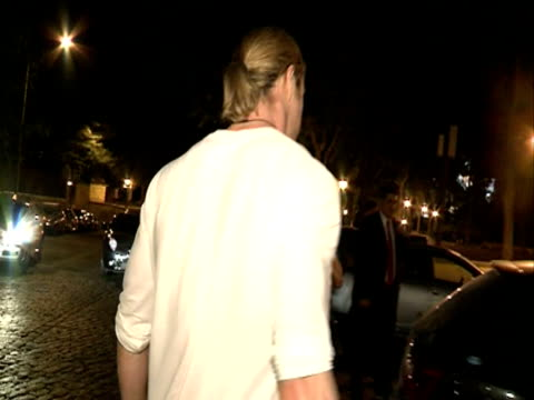 Chris Hemsworth and Elsa Pataky leave a restaurant in Madrid Chris Hemsworth and Elsa Pataky leave a restaurant on July 03 2012 in Madrid Spain