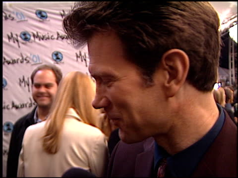chris isaak at the my vh1 music awards at the shrine auditorium in los angeles, california on december 2, 2001. - shrine auditorium stock videos & royalty-free footage