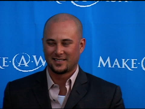 Chris Judd at the 'Uncork A Wish' at The MakeAWish Foundation 13th Annual wine tasting and auction fundraiser at Pacific Design Center in West...