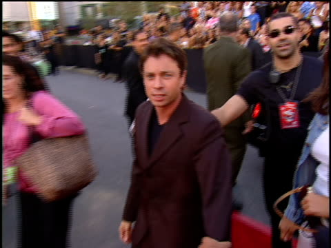 chris kattan arriving to the 2001 mtv mtv video music awards red carpet - mtv video music awards stock videos and b-roll footage