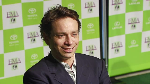 chris kattan at the 16th annual environmental media awards at ebell theater in los angeles, california on november 8, 2006. - environmental media awards stock-videos und b-roll-filmmaterial