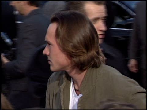 Chris Klein at the Premiere of 'The Matrix Reloaded' on May 7 2003