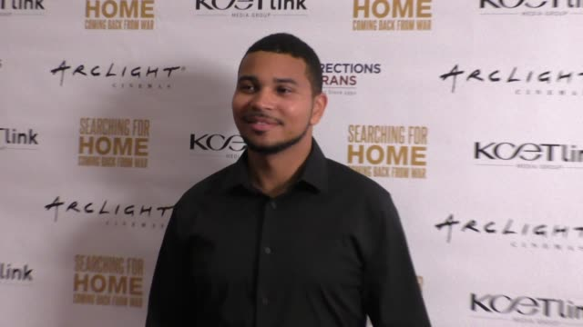Chris Lawrence at The Cast Of Lifetime Television's Army Wives Reunites For Searching For Home Coming Back From War at Arclight Theatre in Sherman...