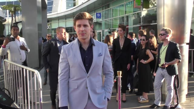 chris lowell at a netflix original series glow los angeles premiere at arclight cinemas cinerama dome on june 21 2017 in hollywood california - cinerama dome hollywood stock videos and b-roll footage