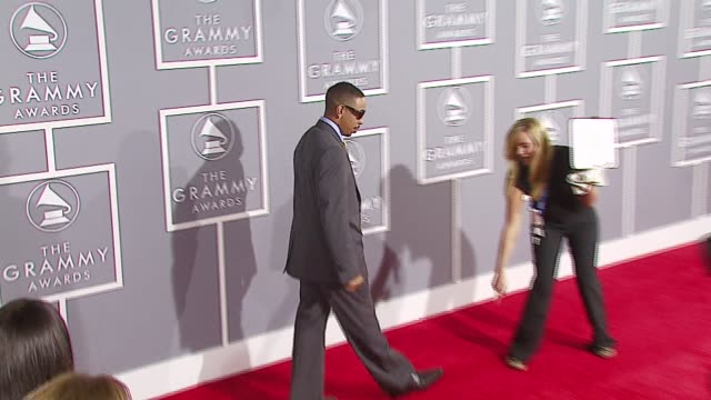 chris 'ludacris' bridges at the 2007 grammy awards arrivals at staples center in los angeles california on february 11 2007 - ludacris stock videos & royalty-free footage
