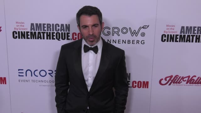 vídeos de stock e filmes b-roll de chris messina at the 31st annual american cinematheque awards honoring amy adams at the beverly hilton hotel on november 10 2017 in beverly hills... - cinemateca americana
