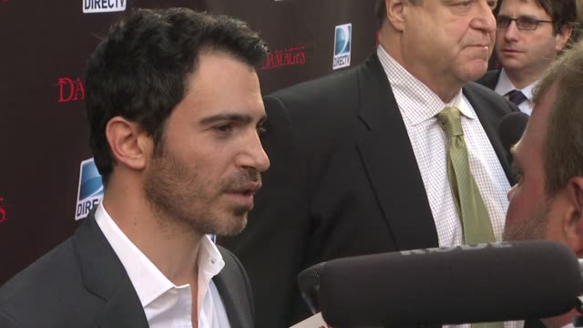 chris messina at the 'damages' season 4 premiere at new york ny - damages television show stock videos and b-roll footage