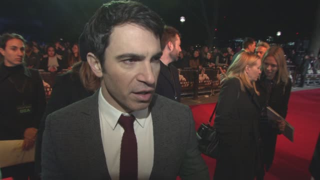 interview chris messina on the buddy element to the film working with ben affleck at 'live by night' european film premiere on january 10 2017 in... - ben affleck stock videos and b-roll footage