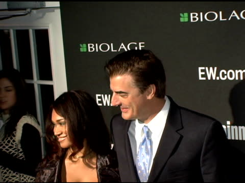 stockvideo's en b-roll-footage met chris noth at the entertainment weekly's viewing party for 2006 academy awards at elaine's in new york, new york on march 5, 2006. - entertainment weekly
