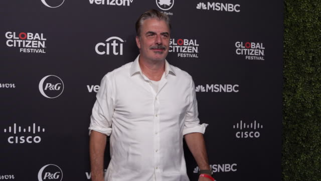 interview chris noth says to end extreme hunger is not small feat says it is being realized that it's the people not the governments who are going to... - great lawn stock videos and b-roll footage