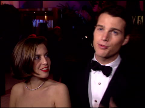 chris o'donnell at the 1996 academy awards vanity fair party at morton's in west hollywood, california on march 25, 1996. - 第68回アカデミー賞点の映像素材/bロール