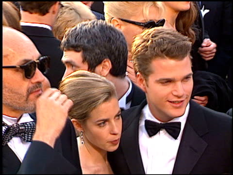 chris o'donnell at the 1997 academy awards arrivals at the shrine auditorium in los angeles, california on march 24, 1997. - 69th annual academy awards stock videos & royalty-free footage