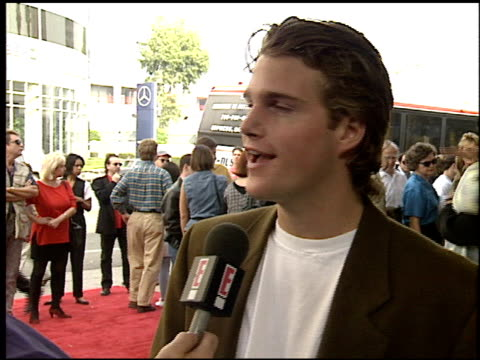 Chris O'Donnell at the Premiere of 'The Three Musketeers' on November 6 1993