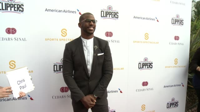 Chris Paul at 32nd Annual CedarsSinai Sports Spectacular in Los Angeles CA