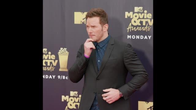 Chris Pratt at the 2018 MTV Movie TV Awards Arrivals