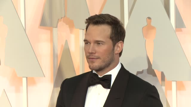 Chris Pratt at the 87th Annual Academy Awards Arrivals at Dolby Theatre on February 22 2015 in Hollywood California