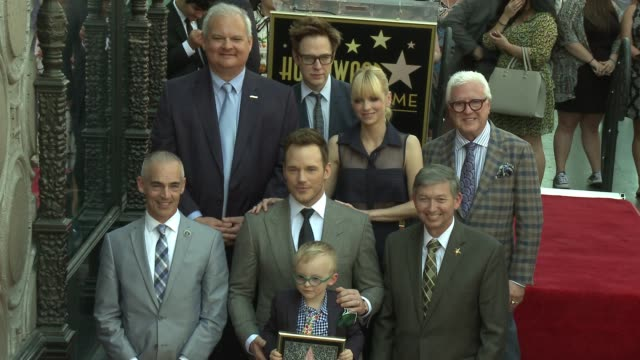CLEAN Chris Pratt Honored With Star On The Hollywood Walk Of Fame at Hollywood Walk Of Fame on April 21 2017 in Hollywood California