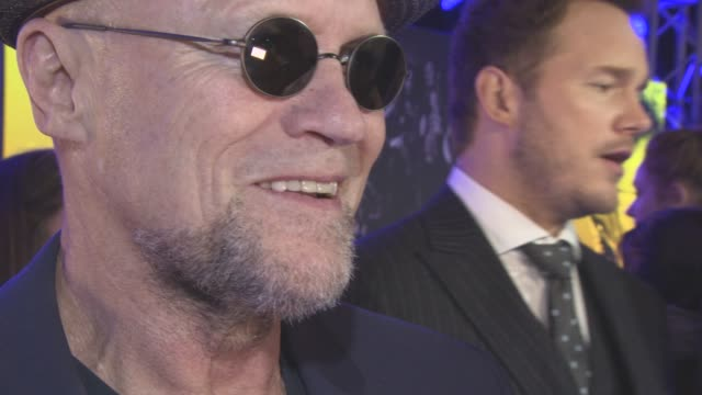 chris pratt, michael rooker, kurt russell at the european gala of 'guardians of the galaxy vol. 2' at eventim apollo on april 24, 2017 in london,... - kurt russell stock videos & royalty-free footage