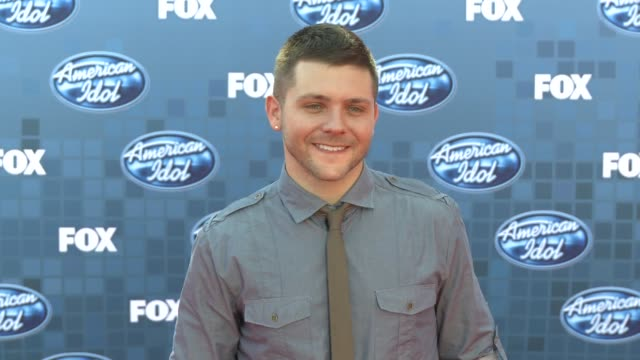 chris richardson at the fox's 'american idol 2011' finale results show at los angeles ca - results show stock videos & royalty-free footage