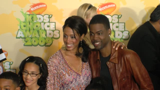 chris rock and guests at the nickelodeon's 22nd annual kids' choice awards at los angeles ca. - nickelodeon stock videos & royalty-free footage