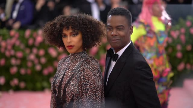 Chris Rock at The 2019 Met Gala Celebrating Camp Notes on Fashion Arrivals at Metropolitan Museum of Art on May 06 2019 in New York City