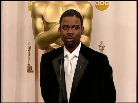 Chris Rock host of the 77th Annual Academy Awards at the 2005 Annual Academy Awards at the Kodak Theatre in Hollywood California on February 27 2005