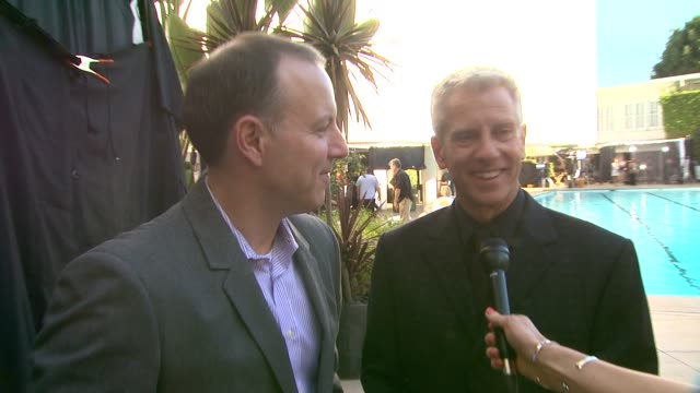 chris sanders and kirk de micco on there expectations of the croods script at the 86th academy awards nominee luncheon interviews at the beverly... - the beverly hilton hotel stock videos & royalty-free footage