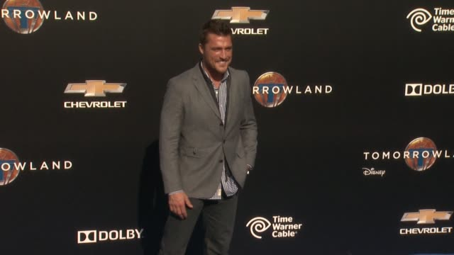 chris soules at the tomorrowland los angeles premiere at amc downtown disney 12 theater on may 09 2015 in anaheim california - anaheim california stock videos and b-roll footage