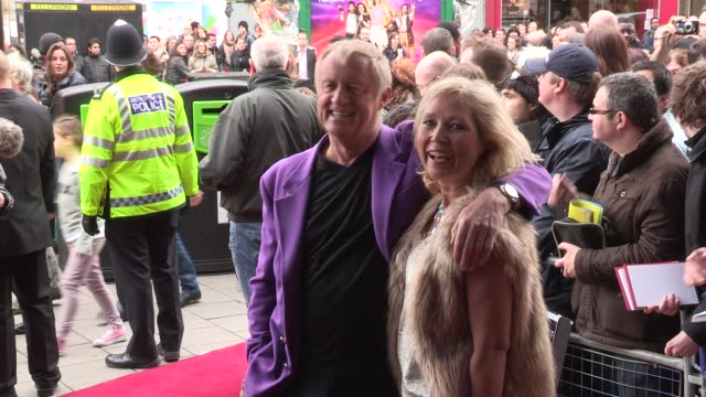 chris tarrant at we will rock you - 10 year anniversary celebration at dominion theatre on may 14, 2012 in london, england - the dominion theatre stock videos & royalty-free footage