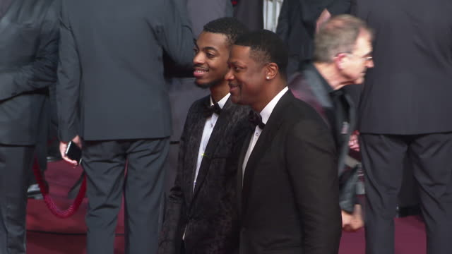 Chris Tucker and Destin Tucker at the Homage to Sylvester Stallone 'Rambo V Last Blood' Special Screening The 72nd Cannes Film Festival on May 24...