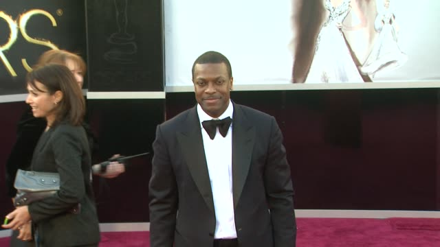 Chris Tucker at 85th Annual Academy Awards Arrivals in Hollywood CA on 2/24/13