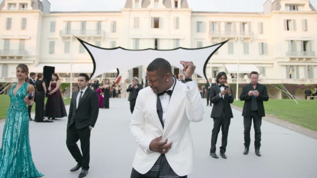 Chris Tucker at amfAR Gala Cannes 2017 at Hotel du CapEdenRoc on May 25 2017 in Cap d'Antibes France