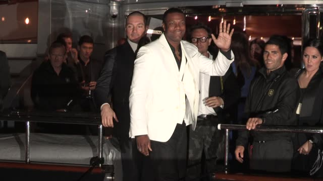 Chris Tucker at Celebrity Sightings on May 22 2013 in Cannes France