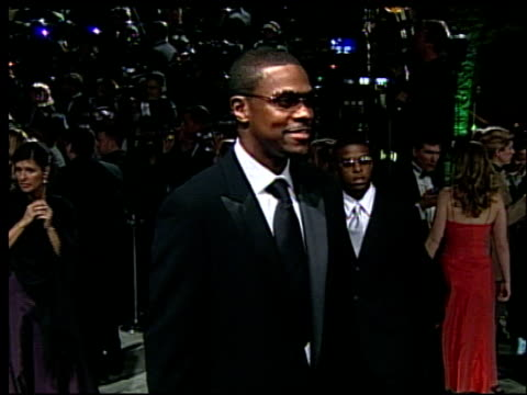 Chris Tucker at the 2002 Academy Awards Vanity Fair Party at Morton's in West Hollywood California on March 24 2002
