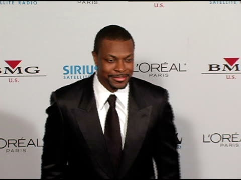 Chris Tucker at the Clive Davis' 2005 PreGrammy Awards Party arrivals at the Beverly Hilton in Beverly Hills California on February 12 2005