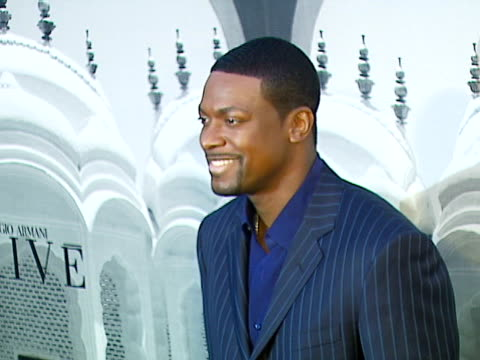 vidéos et rushes de chris tucker at the giorgio armani celebrates 'the oscars' with exclusive prive show at beverly hills california - exclusivité
