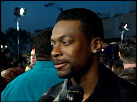 Chris Tucker at the 'Life' Premiere at the Mann Village Theatre in Westwood California on April 14 1999