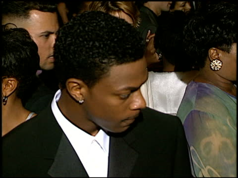 Chris Tucker at the 'Money Talks' Premiere at the Cinerama Dome at ArcLight Cinemas in Hollywood California on August 19 1997