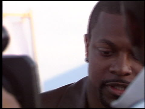 Chris Tucker at the Rockin' the Corps Concert at Camp Pendleton in San Diego California on April 1 2005