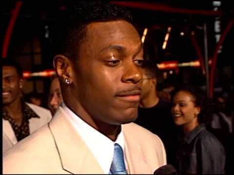 Chris Tucker at the 'Rush Hour' Premiere at Grauman's Chinese Theatre in Hollywood California on September 9 1998