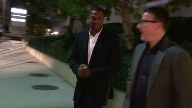 Chris Tucker departs a Private Cocktail Party in Century City 01/12/13