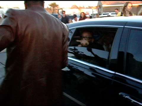 Chris Tucker greets Quincy Jones at the Rockin' the Corp An American Thank You Celebration Concert For US Marines at Camp Pendelton Marine Base in...