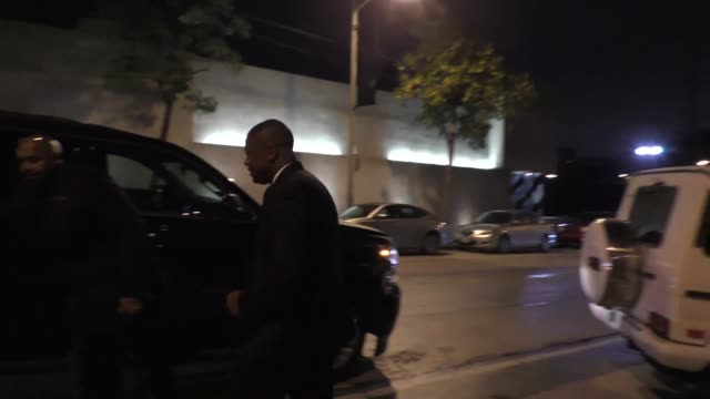 Chris Tucker leaves Craig's Restaurant in West Hollywood in Celebrity Sightings in Los Angeles