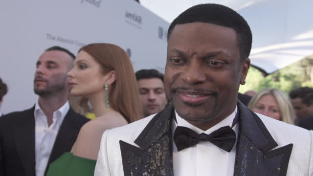 INTERVIEW Chris Tucker on all the good that comes from the amfAR event at the amfAR Cannes Gala 2019 Arrivals at Hotel du CapEdenRoc on May 23 2019...