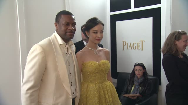 Chris Tucker Ziyi Zhang at Piaget At The 2013 Film Independent Spirit Awards on 2/23/13 in Los Angeles CA