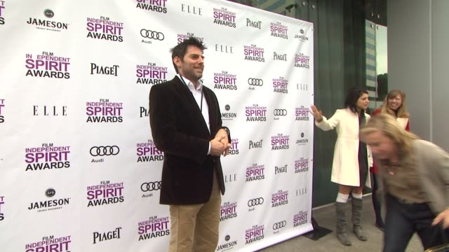 chris weitz at 2012 film independent filmmaker grant and spirit award nominees brunch on 1/14/2012 in west hollywood, ca. - independent feature project stock videos & royalty-free footage