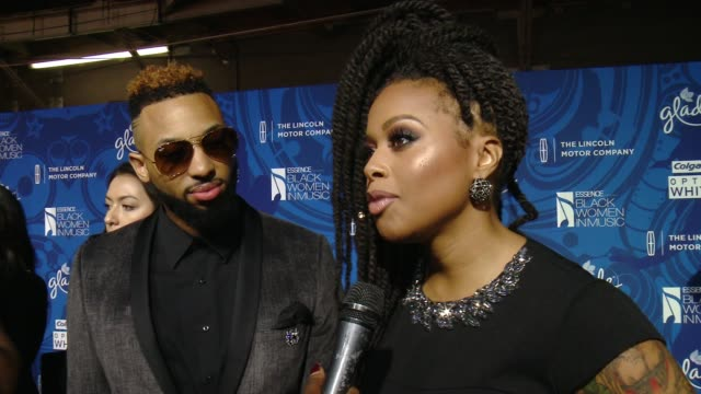 chrisette michelle talked about why it's important that essence celebrates black women in music every year, who she is rooting for in the grammy's... - storyteller stock videos & royalty-free footage