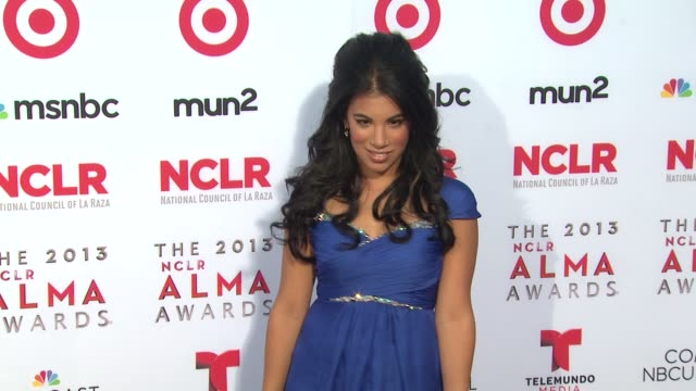 chrissie fit at 2013 nclr alma awards on 9/27/2013 in pasadena ca - alma awards stock videos and b-roll footage